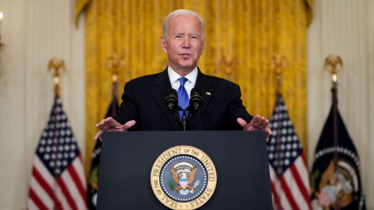 Biden announces expanded port hours to address global supply chain