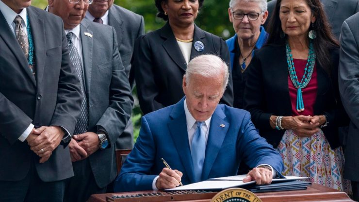 Biden changes the name of Columbus day to indigenous day